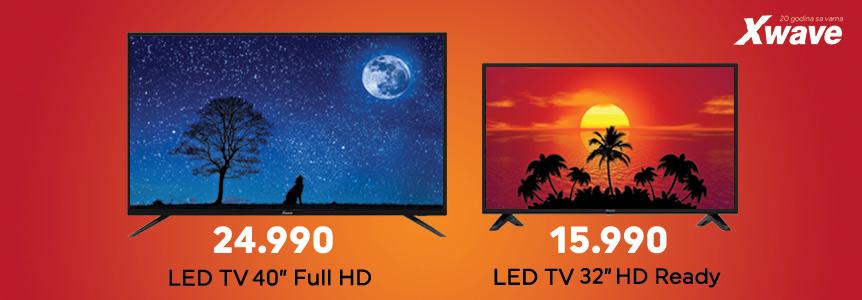 Xwave televizori